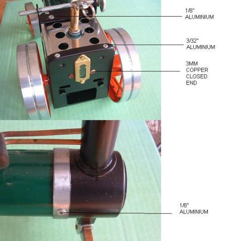 Mamod Steam Engine Rivets