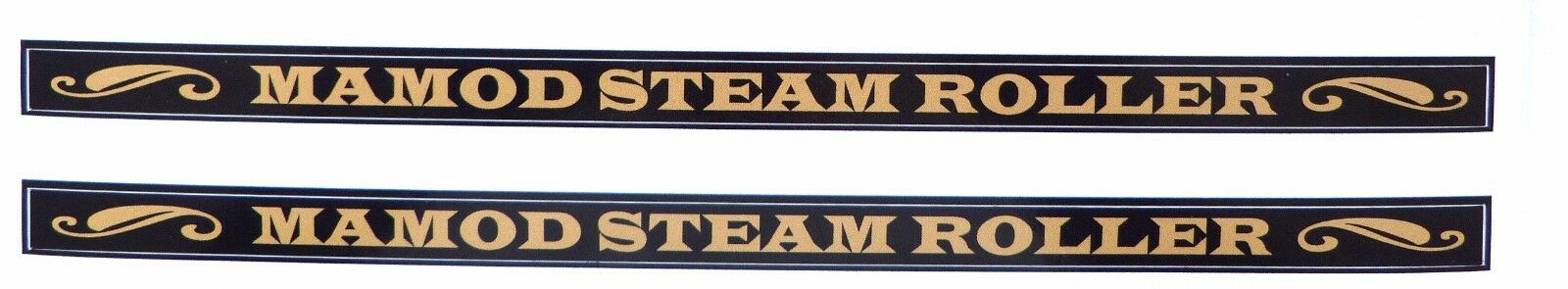 MAMOD CANOPY DECALS / STICKERS SR1A STEAM ROLLER